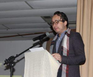 Prof. Alex Valério, apresentador da premiação